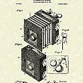 Borsum Photographic Camera 1903 Patent Art by Prior Art Design