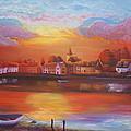Bosham Estuary by Mandy-Jayne Ahlfors
