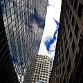 Boston Blue Sky And Stone by Mark Valentine