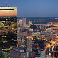 Boston By Night. by Linh H. Nguyen Photography