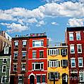 Boston Houses by Elena Elisseeva