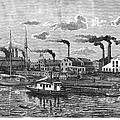 Boston: Iron Foundry, 1876 by Granger