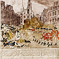 Boston Massacre 1770 by Omikron