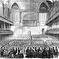 Boston: Music Hall, 1856 by Granger