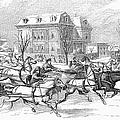 Boston: Sleighing, 1854 by Granger