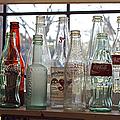 Bottles On The Shelf by Randy Harris