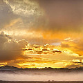 Boulder Colorado Flagstaff Fire Sunset View by James BO Insogna