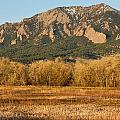 Boulder Colorado Flatiron View From Jay Rd by James BO Insogna