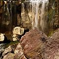 Boulders Under The Falls by Adam Jewell