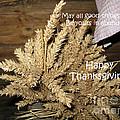 Bounty. Thanksgiving Greeting Card by Ausra Huntington nee Paulauskaite