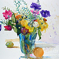Bouquet Study With Anemones by Andre MEHU