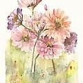 Bouquet Zinnias II by Marilyn Madison