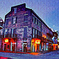 Bourbon Street In The Quiet Hours by Bill Cannon