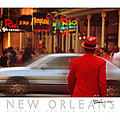 Bourbon Street Man In Red Suit by Robert Baudier