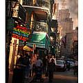 Bourbon Street New Orleans by Robert Baudier
