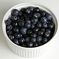 Bowl Of Blueberries by Photo Researchers, Inc.