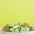 Bowl Of Caesar Salad With Egg by Cultura/BRETT STEVENS