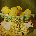 Bowl Of Lemons by Jan Amiss Photography