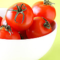 Bowl Of Tomatoes by HD Connelly