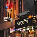 Bowlmor Lanes At Times Square by Margaret Bobb