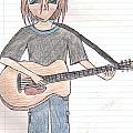 Boy With Guitar by Mikala Coltrane