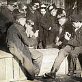 Boys Playing Poker, 1909 by Granger