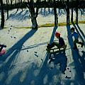 Boys Sledging by Andrew Macara