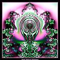 Brain Power Full Of Ideas Fractal 117 by Rose Santuci-Sofranko