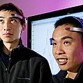 Brainwave-reading Headset by Volker Steger