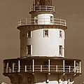 Brandywine Shoal Lighthouse by Skip Willits