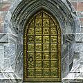 Brass Book Of Genesis Door by Sabrina L Ryan