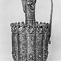 Brass Ewer, C1250 by Granger