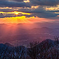 Brasstown Sunset by Debra and Dave Vanderlaan