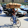 Bread On A Bicycle by Laurel Talabere