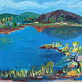 Breakwater On The Great Sacandaga  by Betty Pieper
