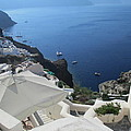 Breathtaking Santorini by Elaine Haakenson