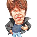 Brian Cox, Caricature by Gary Brown