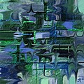 Brick And Blue by Anita Duhon