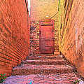 Old Stairs - Bisbee Az by Rebecca Korpita