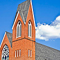 Brick Steeple by Susan Leggett