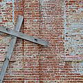 Brick Wall Cross by Nikki Marie Smith
