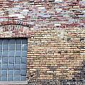 Brick Wall Window by Anita Burgermeister