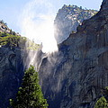 Bridalveil Falls In Yosemite by Carla Parris