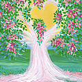 Bride's Tree Pink by First Star Art