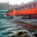 Bridge Across The Ammonoosuc River by Marie Jamieson