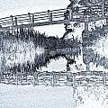 Bridge Across The River by David Pyatt