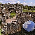 Bridge At Leeds Castle by Jon Berghoff