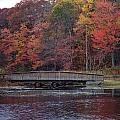 Bridge In Autumn by Richard Bryce and Family