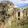Bridge In Ronda by Artur Bogacki