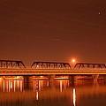 Bridge In The Mist by Louise Mingua